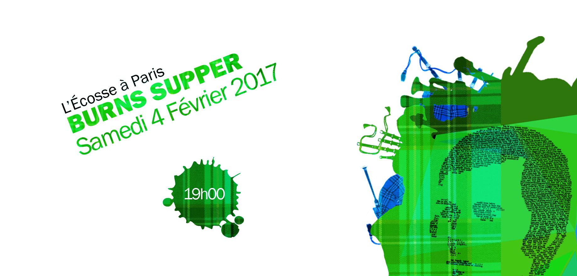Burns'Supper géant Samedi 4 février 2017 aux Chapiteaux Turbulents !