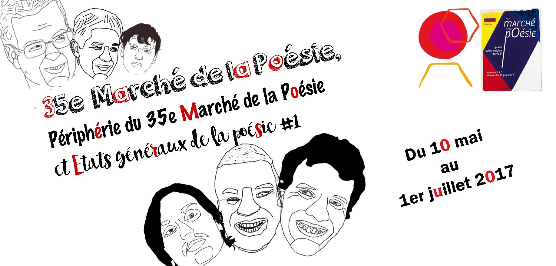 Le marché de la poésie Du 10 mai au 1er juillet