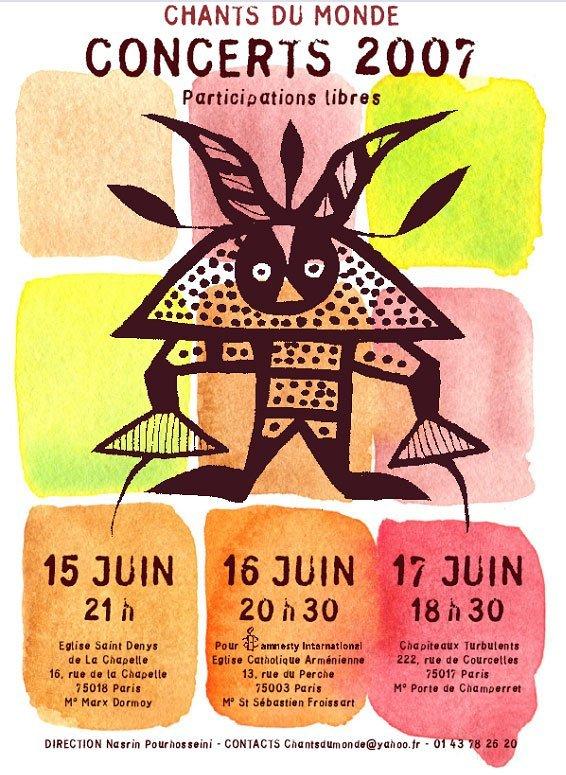 Chant du Monde le 17 Juin 2007