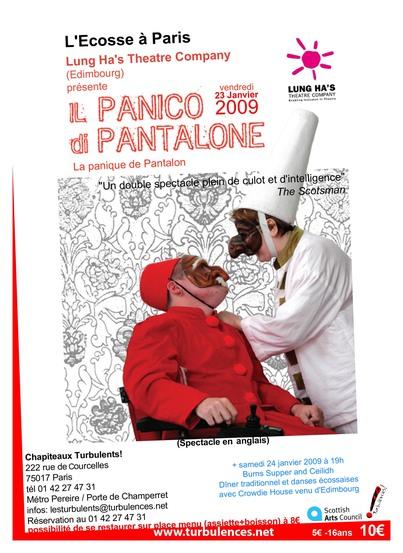 L'Ecosse à Paris Lung Ha's Théâtre Company - 23 janvier à 19h30