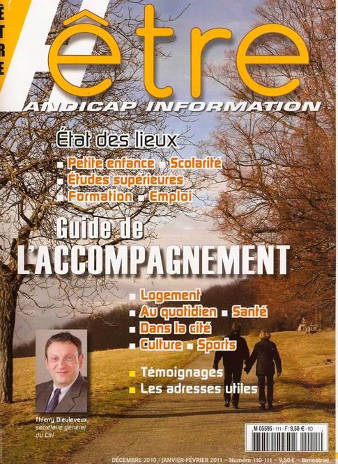 Revue Etre Handicap Information du mois de déc 2010, janvier, février 2011