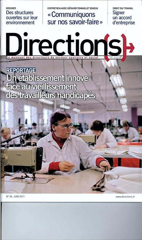 Magazine Directions N°86 Juin 2011.