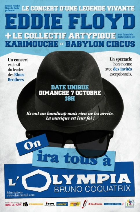 LE 7 OCTOBRE 2012« ON IRA TOUS à L'OLYMPIA »