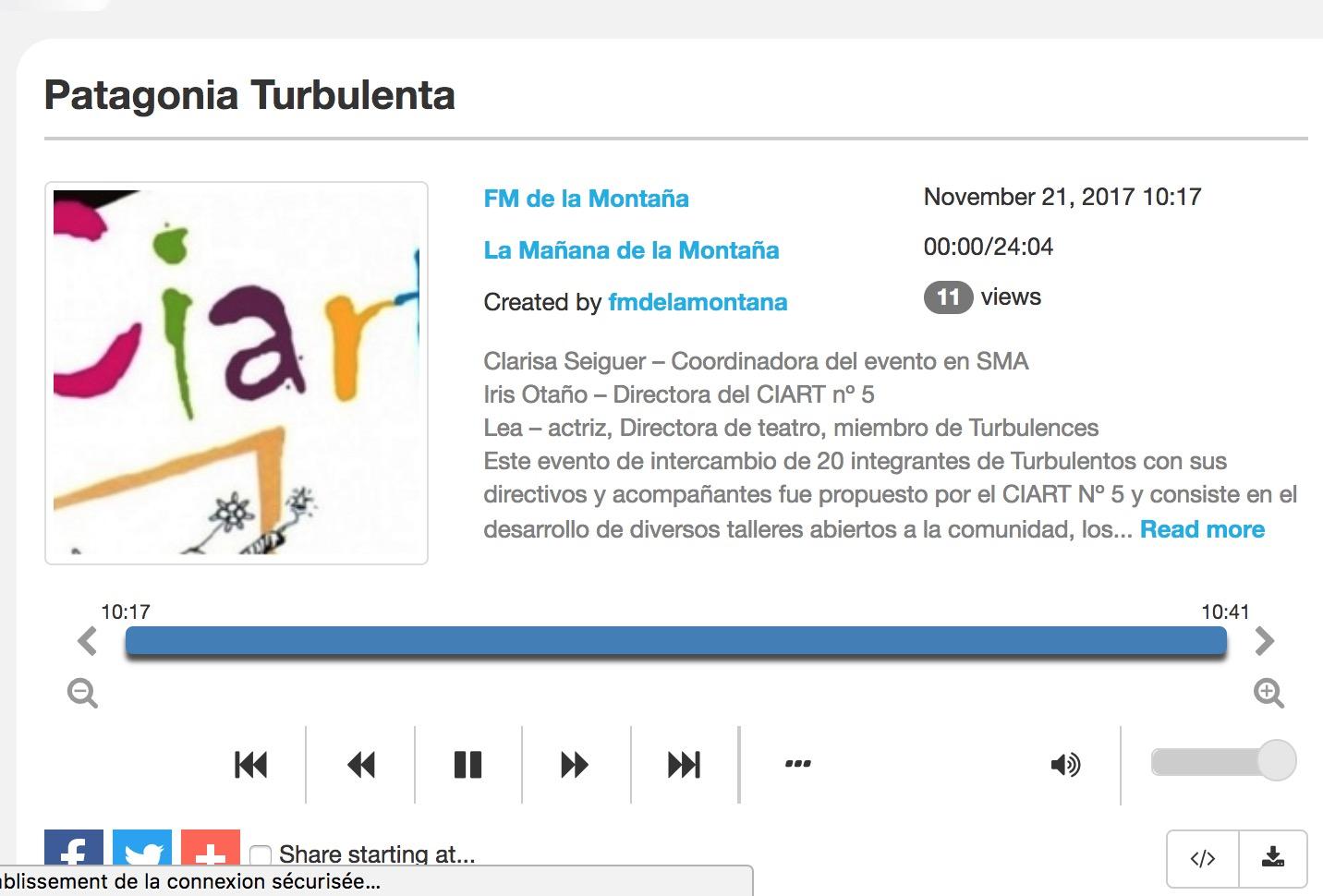 Patagonia Turbulenta