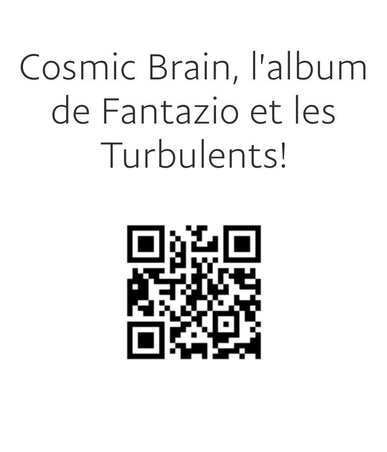 Cosmic Brain, l'album de Fantazio et les Turbulents ! est sorti et disponible!