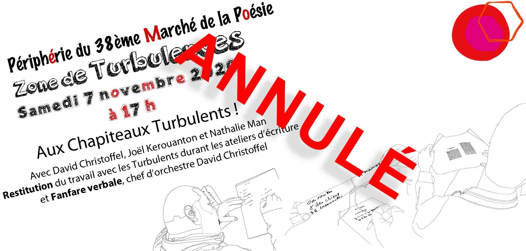 #28. samedi 7 novembre à 17h La Périphérie du Marché