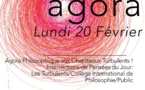Agora Lundi 20 février de 19h à 21H