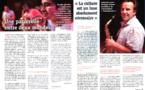 """Union sociale 259- août-septembre 2012 - """"La culture est un luxe absolument nécessaire"""""""