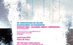 Agora Philosophique Jeudi 6 juin 2013 18h-20h Palais de Tokyo, 13 avenue du Président Wilson, 75116 Paris (entrée libre)